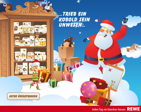 adventskalender rewe