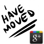 I have moved to Google plus