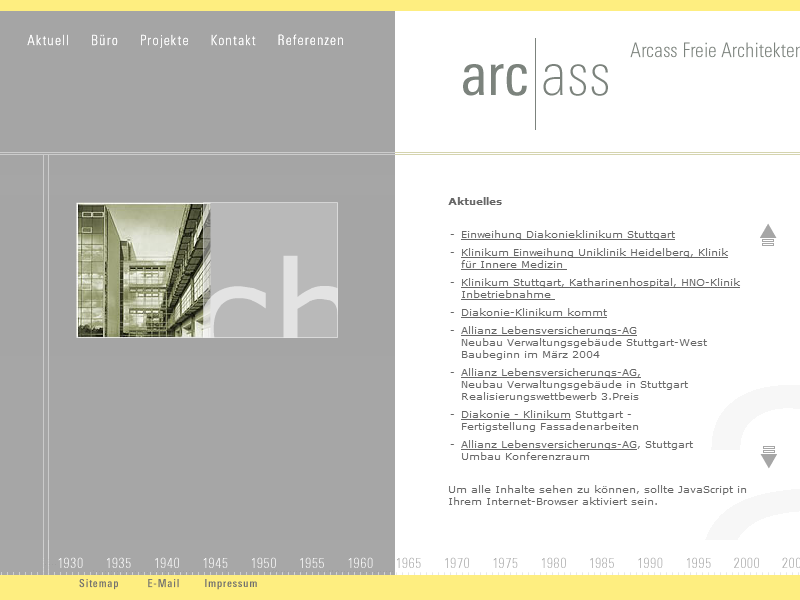 Arcass Website