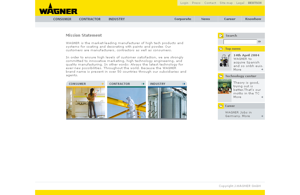 Wagner Website