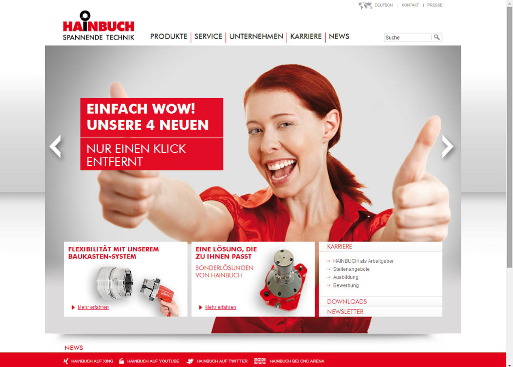 Hainbuch Website