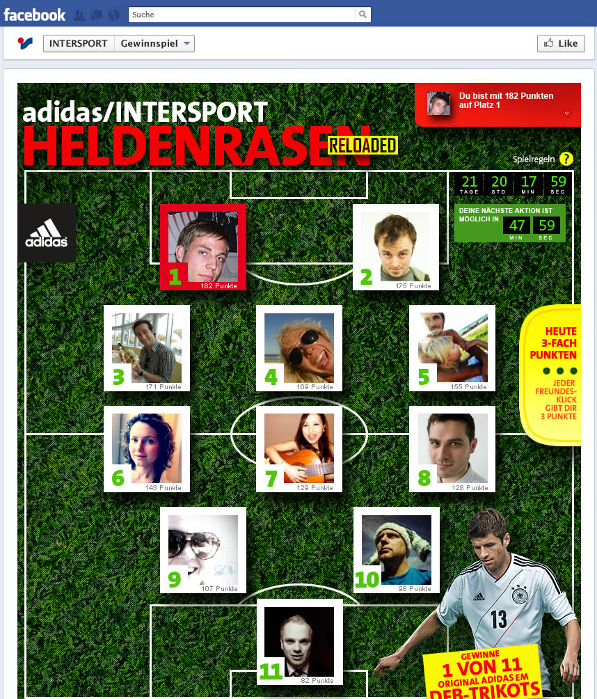 INTERSPORT Heldenrasen reloaded