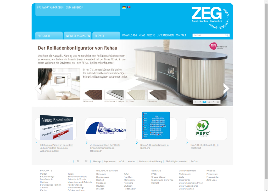 ZEG Website