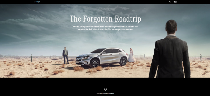 Mercedes - The Forgotten Roadtrip